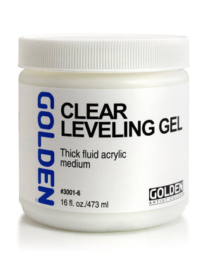 Golden - 16 oz. - Self Leveling Clear Gel