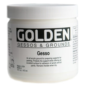 Golden - 16 oz. - Gesso