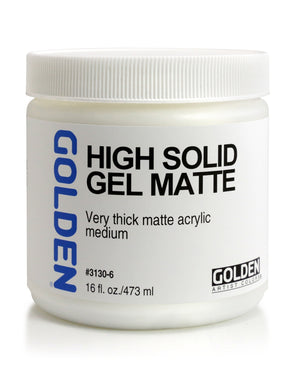 Golden - 16 oz. - High Solid Gel Matte