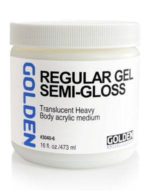 Golden - 16 oz. - Regular Gel Semi-Gloss