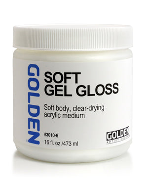 Golden - 16 oz. - Soft Gel Gloss