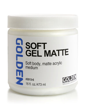 Golden - 16 oz. - Soft Gel Matte