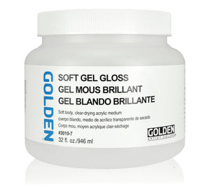 Golden - 32 oz. - Soft Gel Gloss