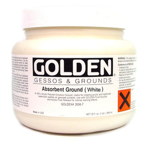 Golden - 32 oz. - Absorbent Ground (White)