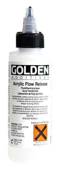 Golden - 4 oz. - Acrylic Flow Release (Wetting Agent)