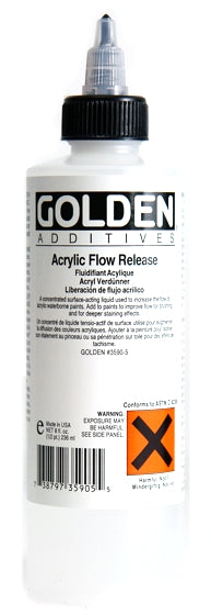 Golden - 8 oz. - Acrylic Flow Release (Wetting Agent)
