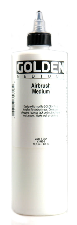 Golden Airbrush Medium - 16 oz. bottle