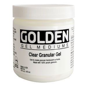 Golden - 16 oz. - Clear Granular Gel