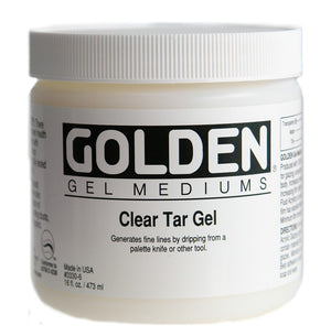 GOLDEN - 16 OZ. - CLEAR TAR GEL