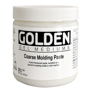GOLDEN - 16 OZ. - COARSE MOLDING PASTE