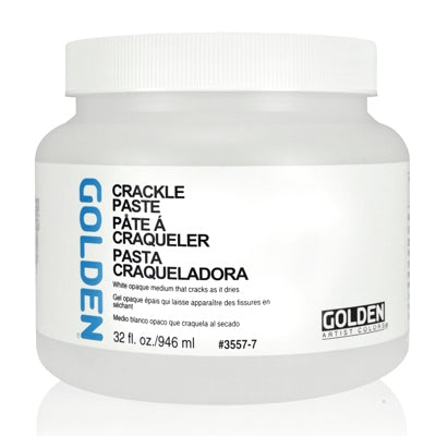 Golden - 32 oz. - Crackle Paste