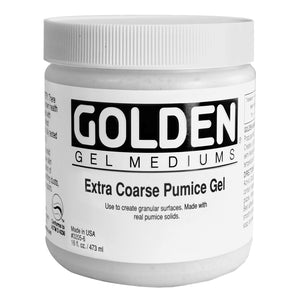GOLDEN - 16 OZ. - EXTRA COARSE PUMICE GEL