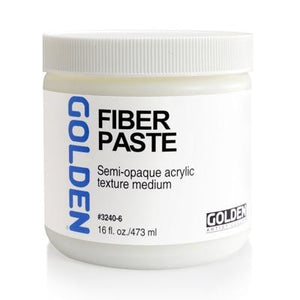 Golden - 16 oz. - Fiber Paste