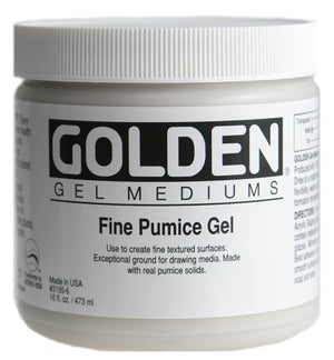 GOLDEN - 16 OZ. - FINE PUMICE GEL