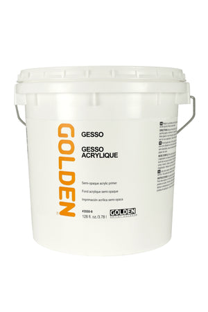 Golden - 128 oz. (1 Gallon) - Gesso