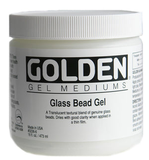 GOLDEN - 16 OZ. - GLASS BEAD GEL