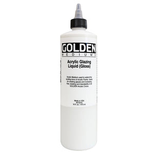 Golden - 16 oz. - Acrylic Glazing Liquid Gloss