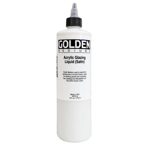 Golden - 16 oz. - Acrylic Glazing Liquid Satin