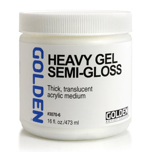 Golden - 16 oz. - Heavy Gel Semi-Gloss