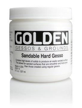 GOLDEN - 8 OZ. - SANDABLE HARD GESSO