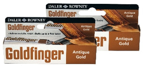 Goldfinger Metallic Paste 22 ml - Antique Gold