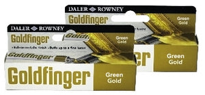 Goldfinger Metallic Paste 22 ml - Green Gold
