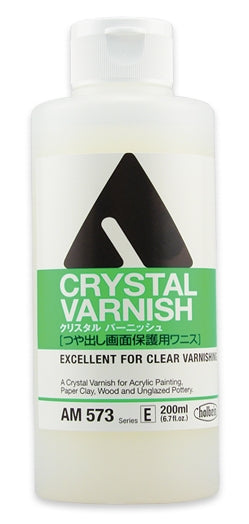 Holbein Acrylic Medium - 200 ml - Crystal Varnish