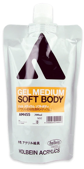 Holbein Acrylic Medium - 300 ml - Gel Medium Soft Body