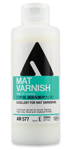Holbein Acrylic Medium - 200 ml - Mat (Matte) Varnish