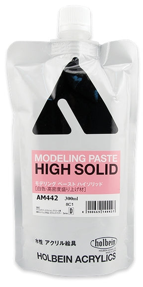 Holbein Acrylic Medium - 300 ml - Modeling Paste High Solid