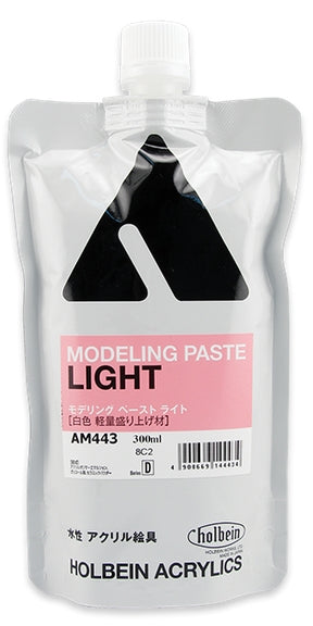 Holbein Acrylic Medium - 300 ml - Modeling Paste Light