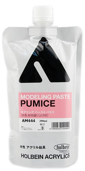 Holbein Acrylic Medium - 300 ml - Modeling Paste Pumice
