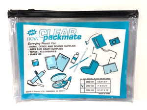 "Itoya Clear Packmate - 7"" x 9 3/4"""