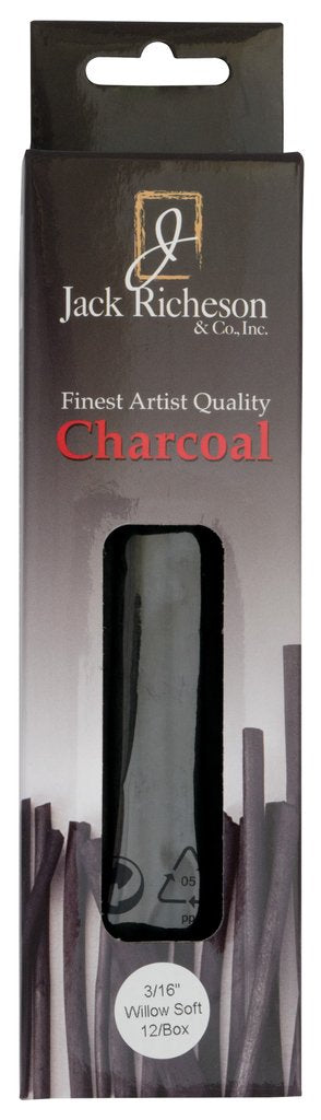 Richeson Natural Willow Charcoal 3/16""