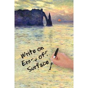 Sunset At Etreat by Monet Dry Erase Image Board