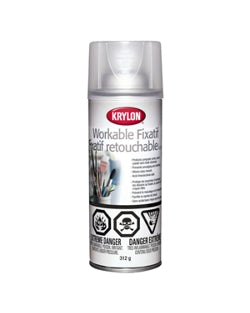 Krylon - 312g - Workable Fixatif