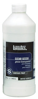 Liquitex - 32 oz. - Clear Gesso