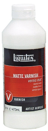 Liquitex Matte Varnish - 16 oz. bottle