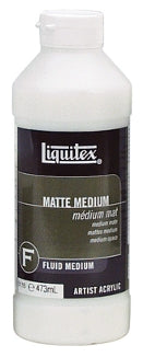Liquitex Matte Medium - 16 oz. bottle