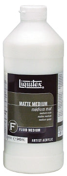 Liquitex Matte Medium - 32 oz. bottle