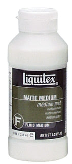 Liquitex Matte Medium - 8 oz. bottle