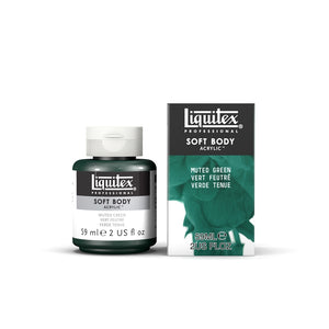 Liquitex Soft Body Acrylic Muted Collection - 2 oz. jar - Muted Green