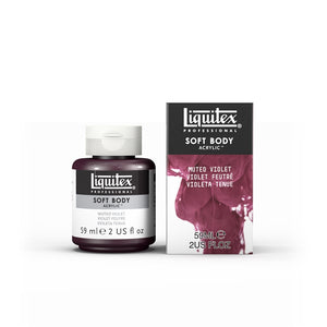 Liquitex Soft Body Acrylic Muted Collection - 2 oz. jar - Muted Violet