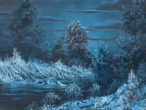 Bob Ross Landscape Painting Packet - Midnight River