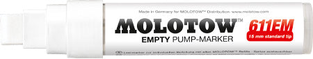 Molotow 15mm Wide Tip Empty Marker
