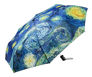 MoMA Starry Night Umbrella Collapsible