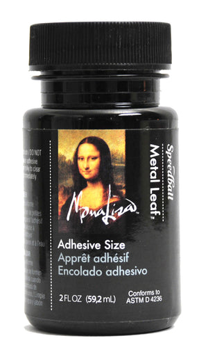 Mona Lisa Gold Leaf Adhesive for Metal Leaf - 2 oz.