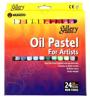 Mungyo Artists Oil Pastel - Set of 24