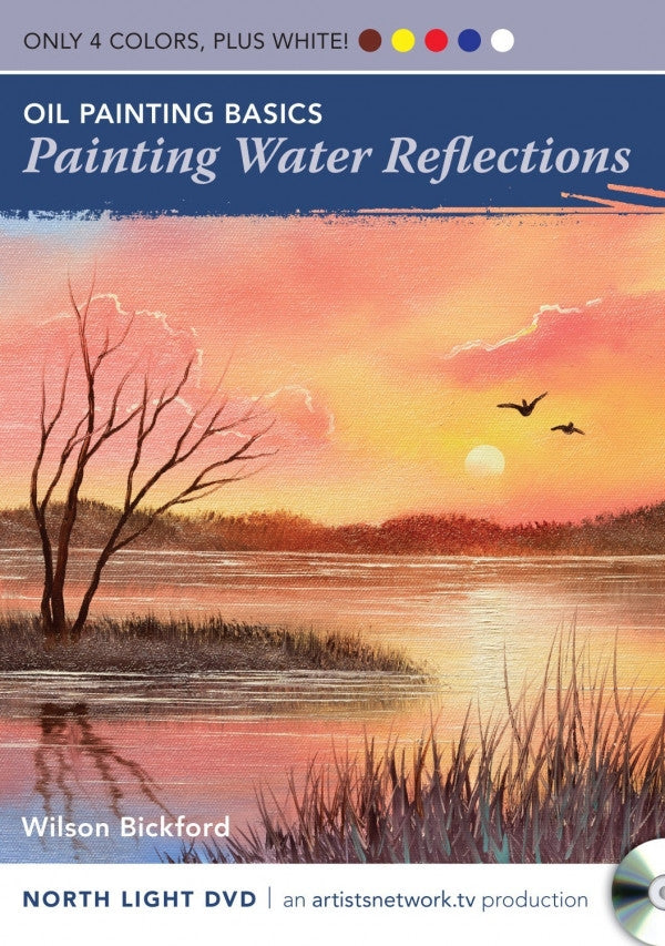 Oil Painting Basics - Painting Water Reflections by Wilson Bickford