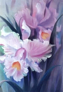 Bob Ross Floral Painting Packet - Orchids